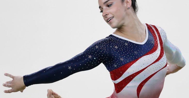 Olympics 2016: Gymnast Aly Raisman Tumbles in Jeans